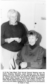 Joyce Denning & RAG Holmes